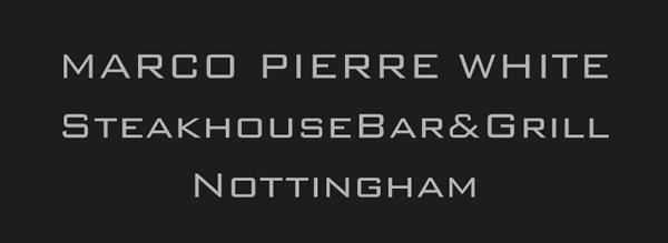 Carbon Free Dining - Marco Pierre White Steakhouse bar & Grill Nottingham