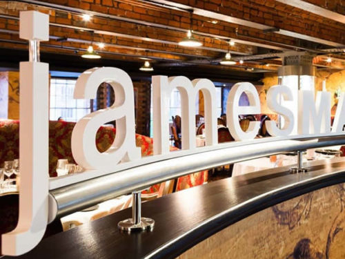 Carbon Free Dining - James Martin Manchester
