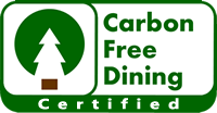 Carbon Free Dining Certified
