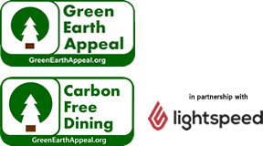 Carbon Free Dining in Partnership With Lightspeed