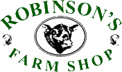 Carbon Free Dining - Robinson's Farm Shop Logo