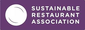 Koolstofvrij dineren - het logo van de Sustainable Restaurant Association