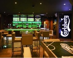 Carbon Free Dining - Bar des sports Carlsberg