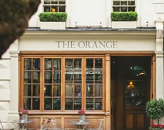 Carbon Free Dining - The Orange - Cubitt House
