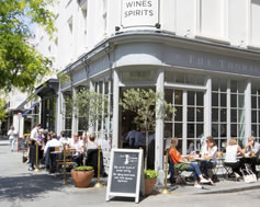 Carbon Free Dining - Cubitt House - The Thomas Cubitt