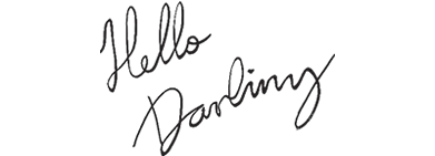 Carbon Free Dining - Logo de Hello Darling London