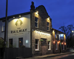 Carbon Free Dining - The Railway at Bromley Cross