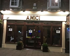 Carbon Free Dining Certified Restaurant - Amici Bedford
