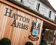 Carbon Free Dining - The Hatton Arms - Warwick - Logo