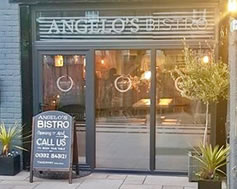 Carbon Free Dining - Angelo's Bistro - Duffield - Derbyshire