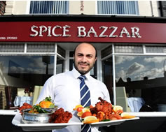 Carbon Free Dining - Spice Bazzar Leicester - Thumbnail
