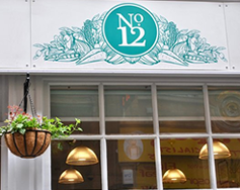 Carbon Free Dining - No.12 Hounds Gate - Nottingham - Logo