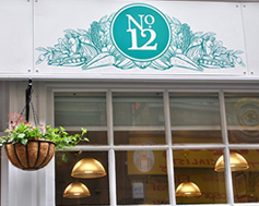 Carbon Free Dining - No.12 Hounds Gate - Nottingham - Logo