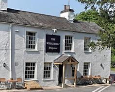 Koolstofvrij dineren - The Wheatsheaf Inn, Brigsteer, Cumbria - Logo