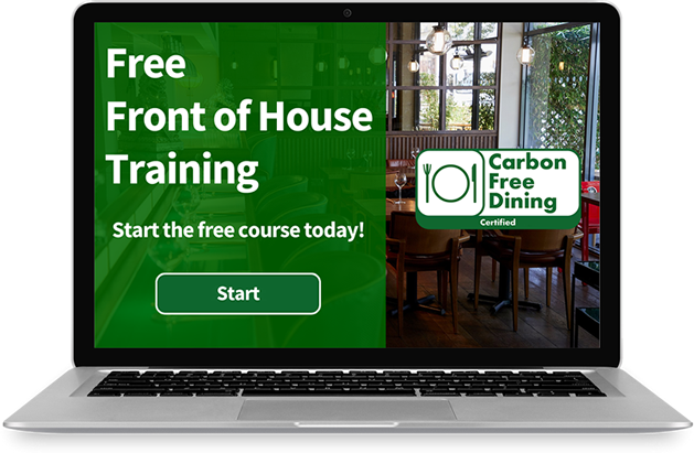 Front of House Training - Carbon Free Dining - Free Online Front of House Training - carbonfreedining.org/front-of-house-training/
