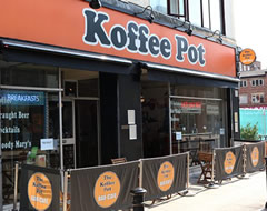 Carbon Free Dining - Certified Restaurant - The Koffee Pot Manchester
