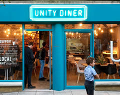 Carbon Free Dining - Certified Restaurant - Unity Diner