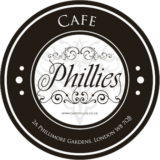 Cafe Phillies Logo - Carbon Free Dining